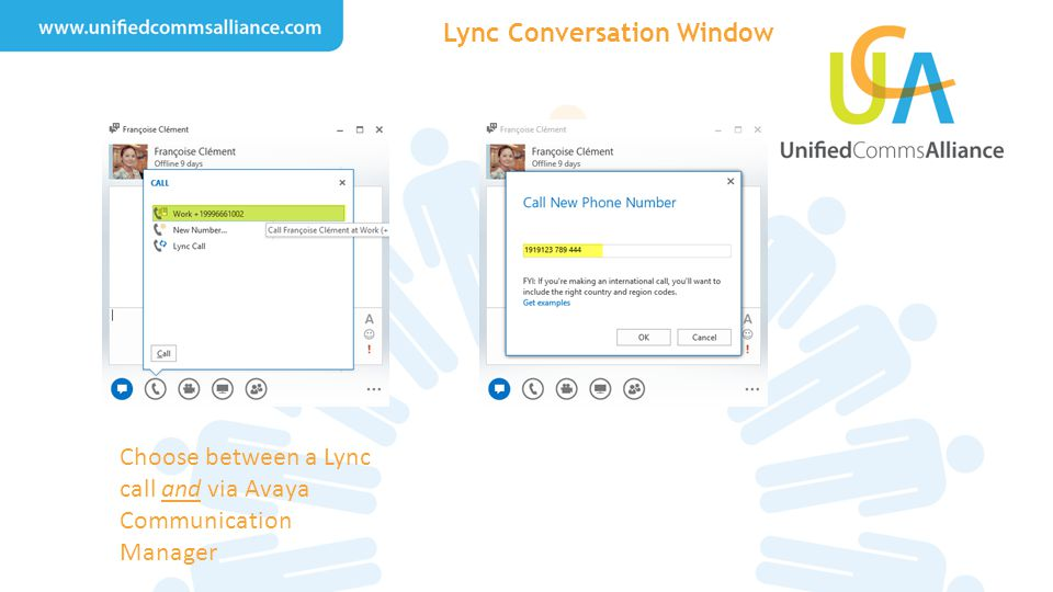 Lync Conversation Window
