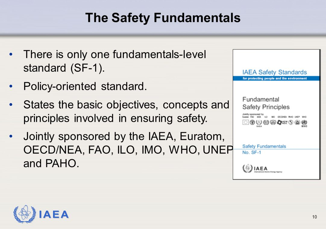The Safety Fundamentals
