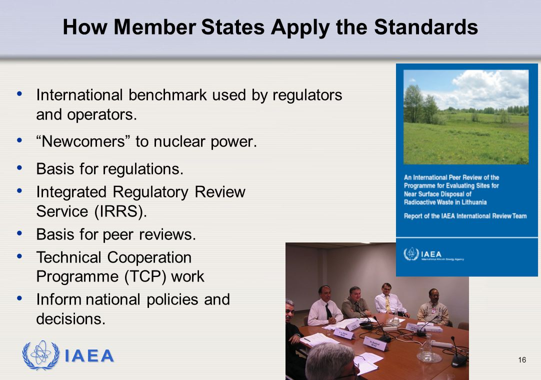 How Member States Apply the Standards