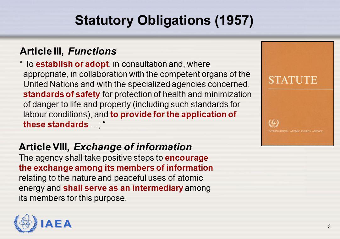 Statutory Obligations (1957)