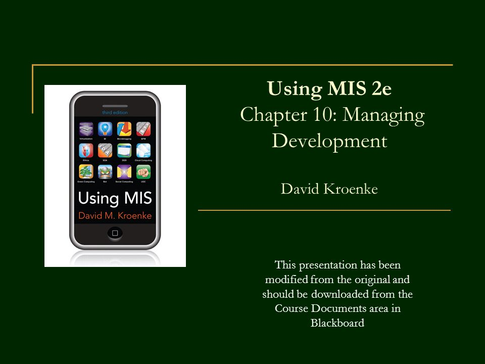 using mis Using mis final study 1) which of the following statements is true of information systems b) every information system has at least one application.