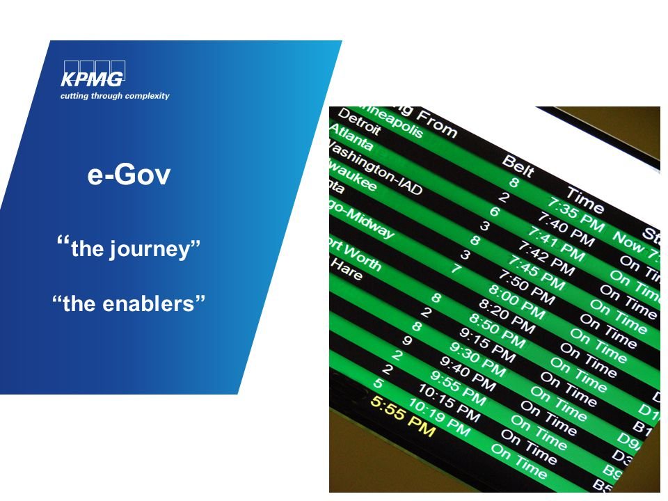 eGov Journey – we are still on this journey