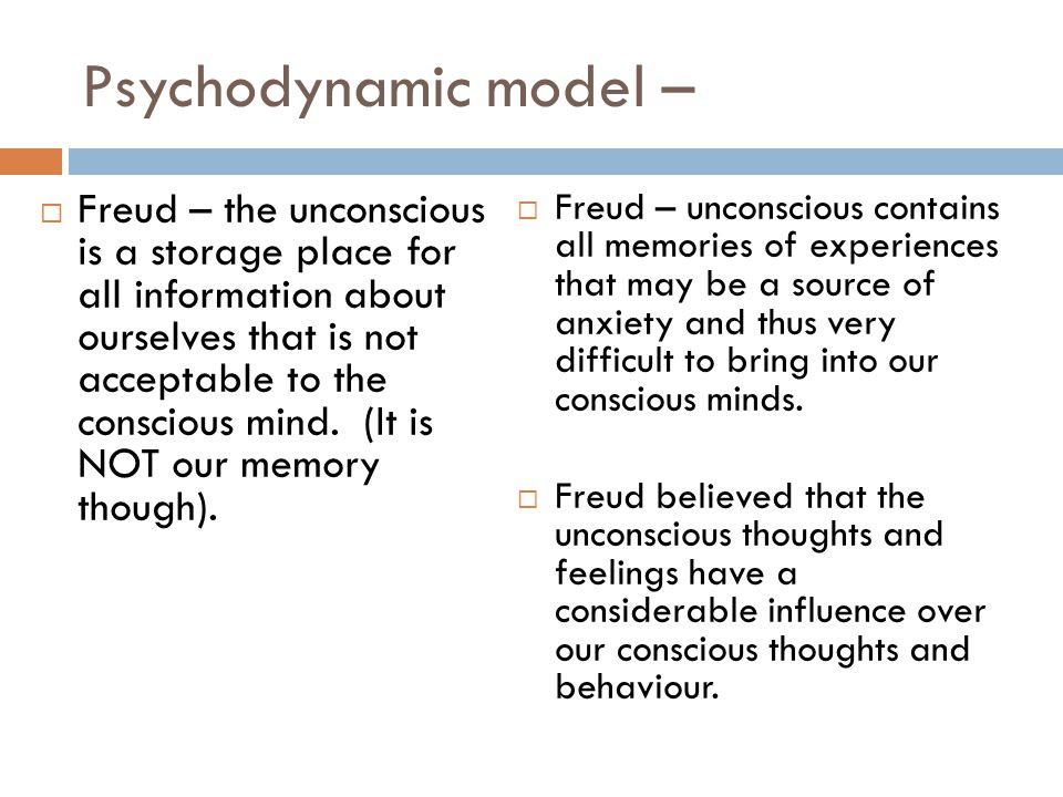 Psychodynamic model –