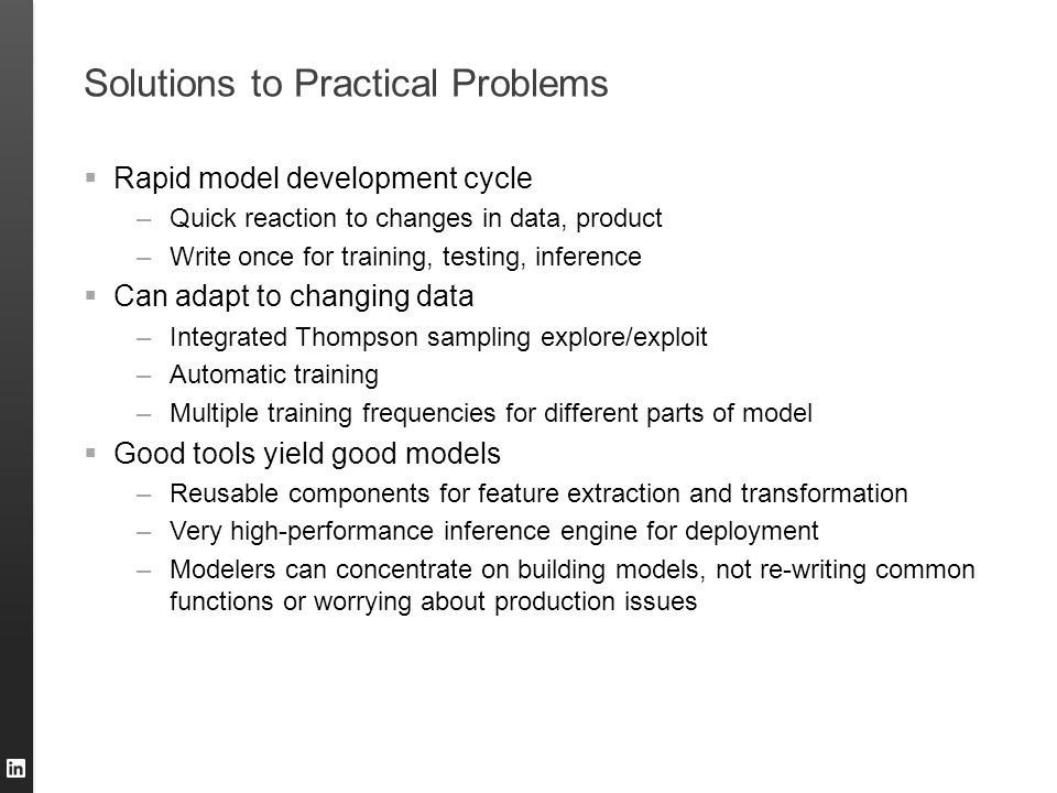 Solutions to Practical Problems