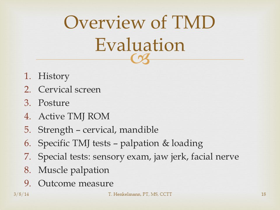 Overview of TMD Evaluation