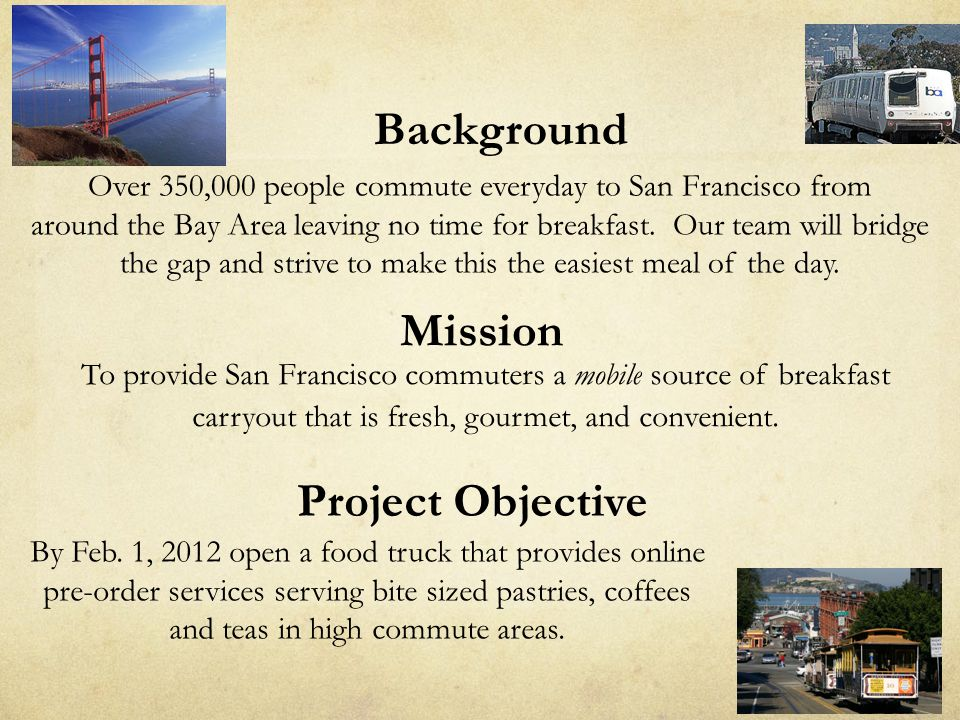 Background Project Objective