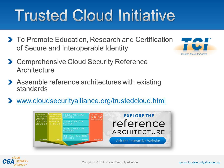 Trusted Cloud Initiative