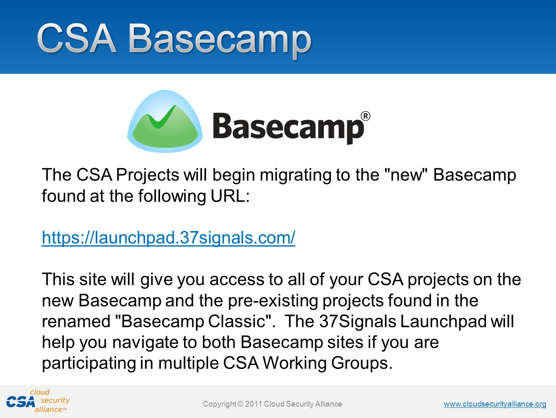 CSA Basecamp