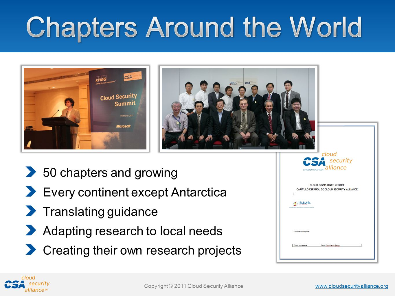 Chapters Around the World