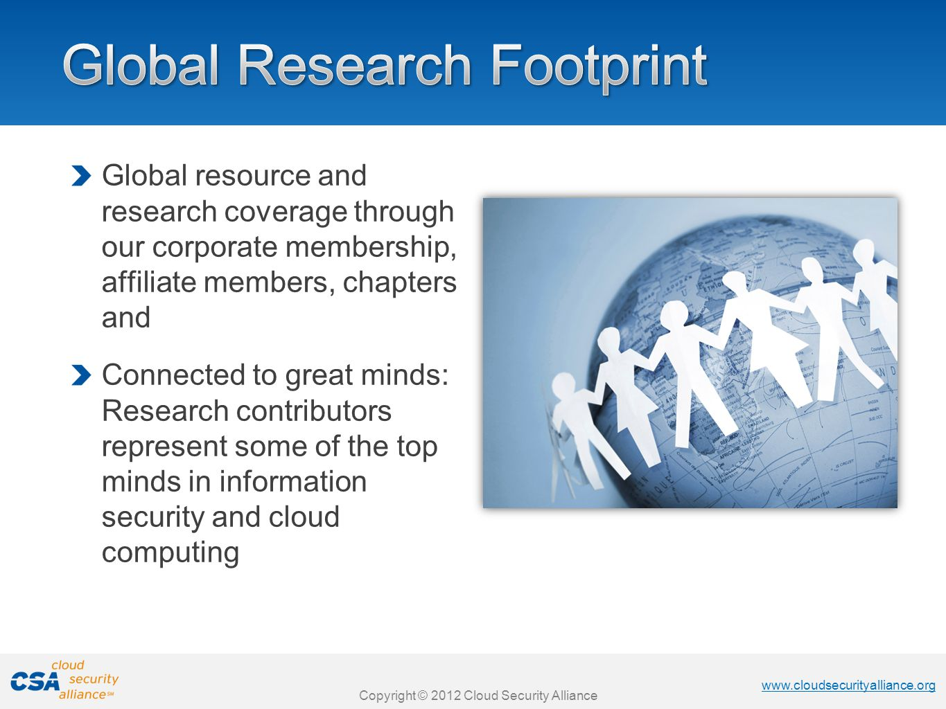 Global Research Footprint