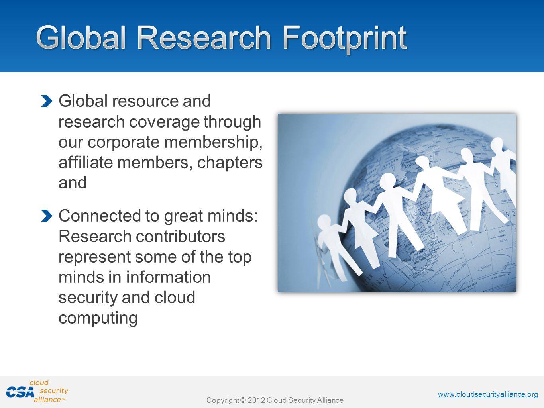 Global Research Footprint