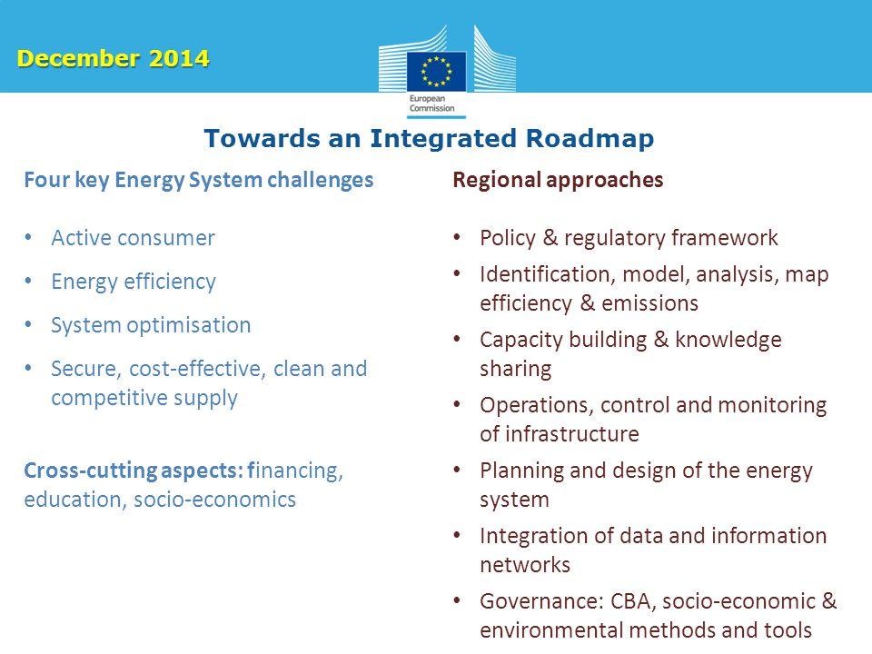 Towards an Integrated Roadmap