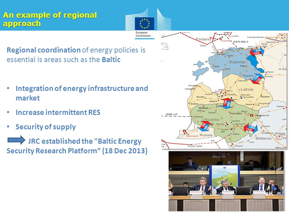 Integration of energy infrastructure and market