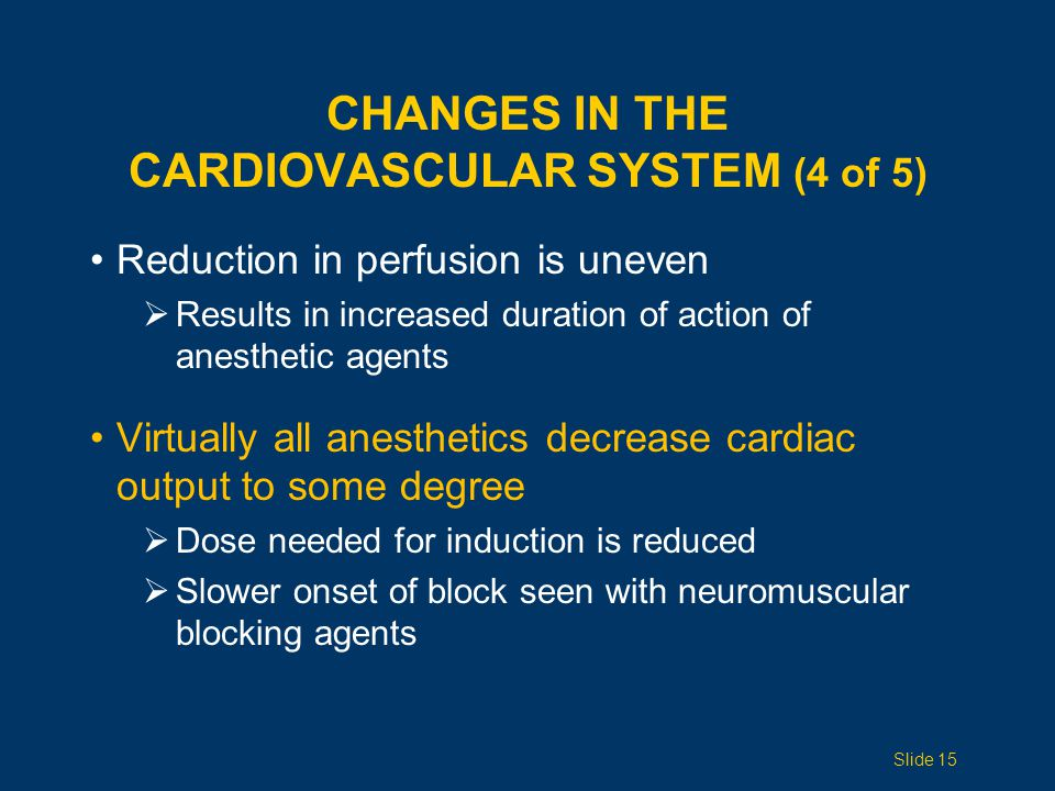 Changes in the Cardiovascular System (4 of 5)