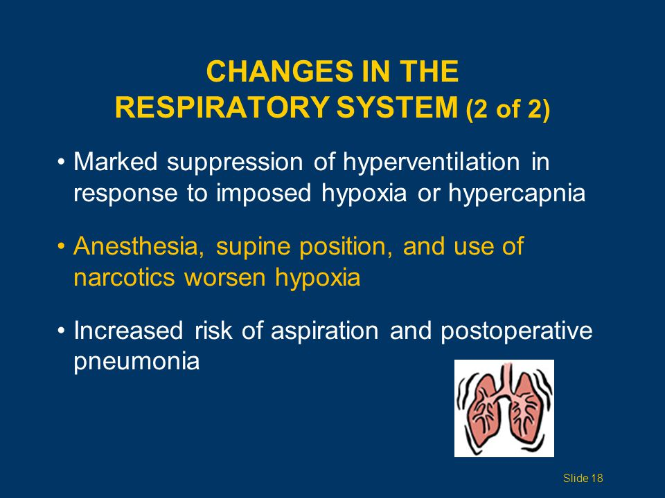 Changes in the Respiratory System (2 of 2)
