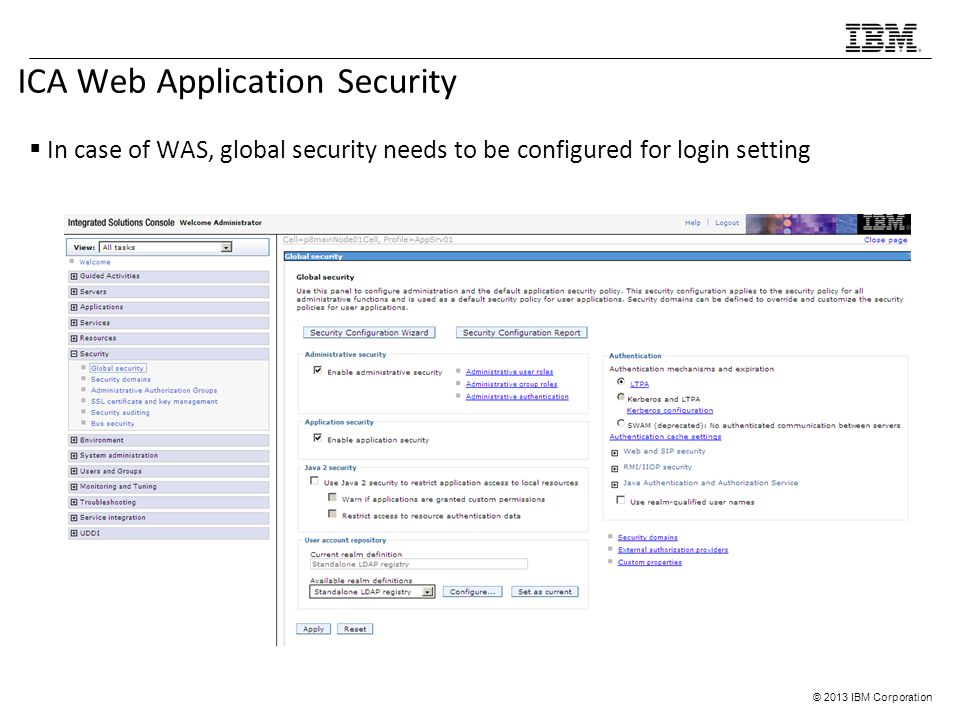 ICA Web Application Security