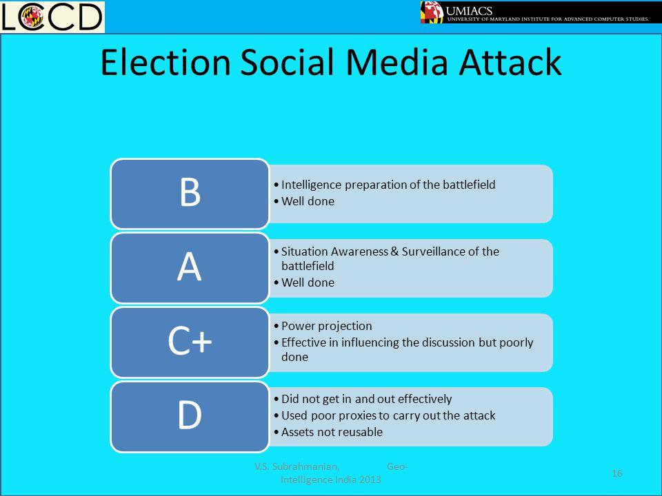Election Social Media Attack