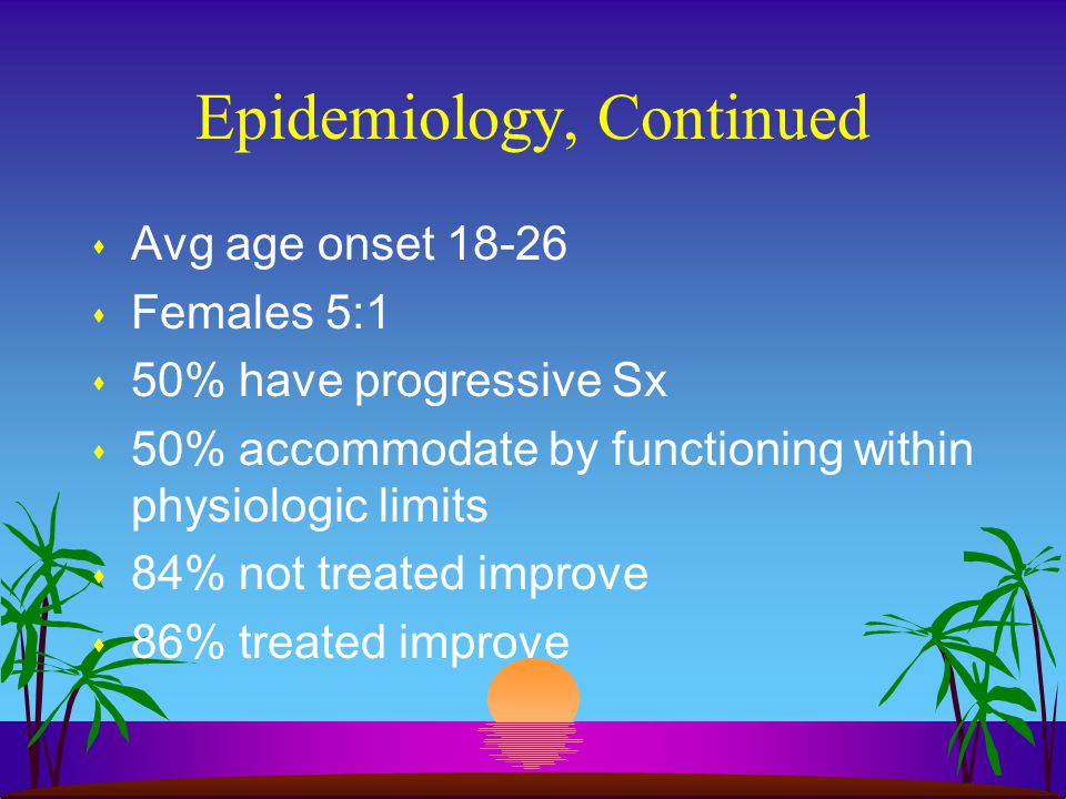 Epidemiology, Continued