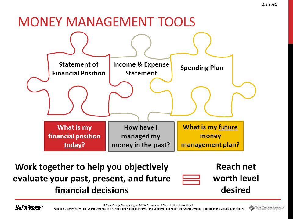 Money Management Tools