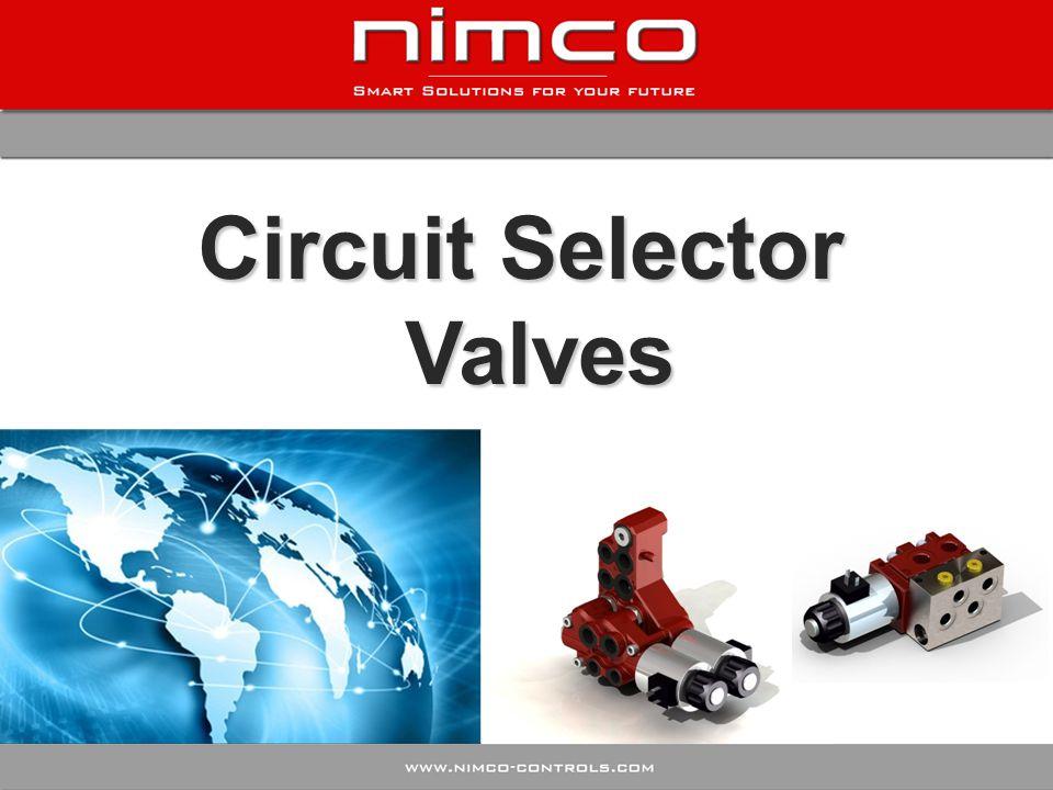 Circuit Selector Valves