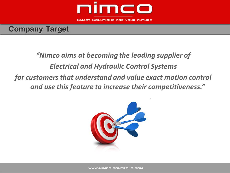 Nimco aims at becoming the leading supplier of
