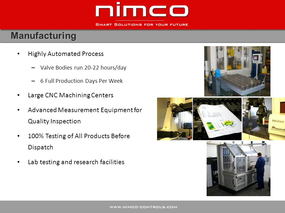 Manufacturing Highly Automated Process Large CNC Machining Centers