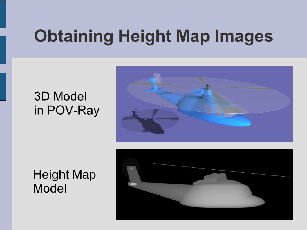 Obtaining Height Map Images