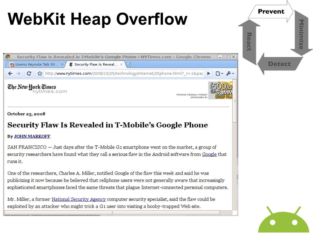 WebKit Heap Overflow