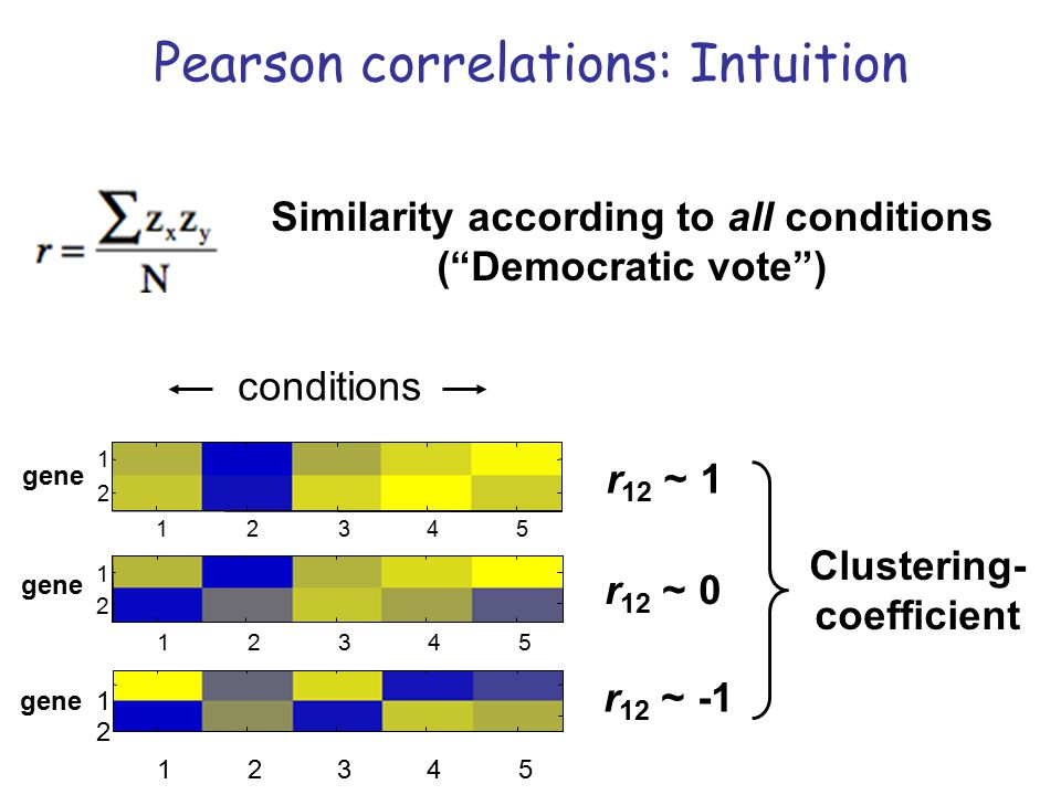 Similarity according to all conditions ( Democratic vote )