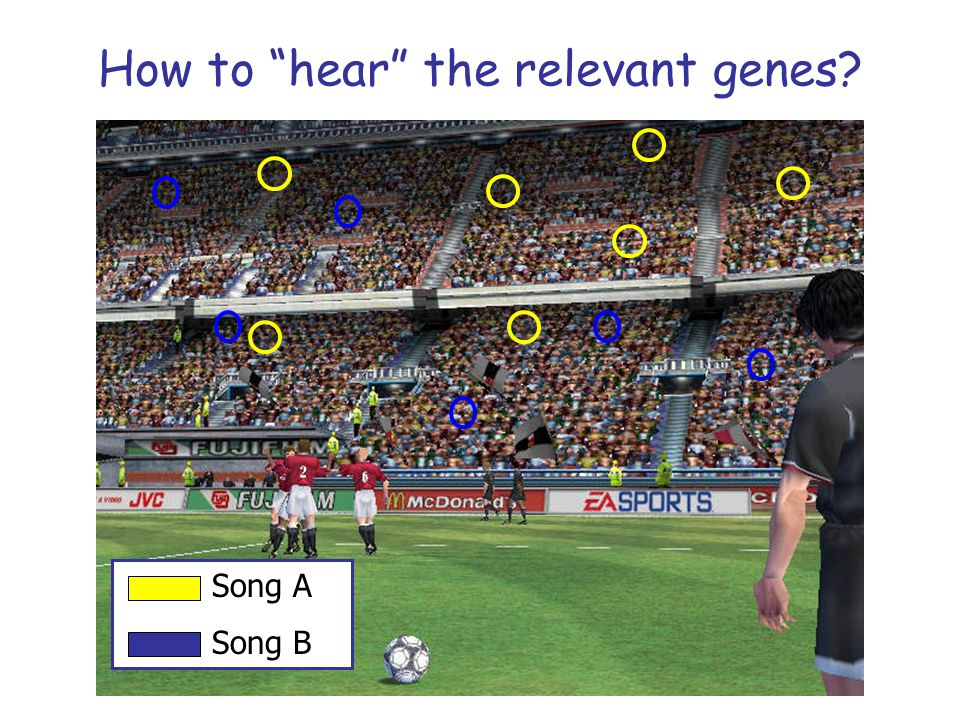 How to hear the relevant genes