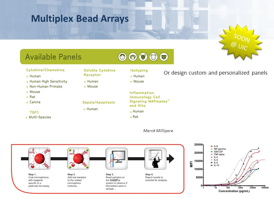 Multiplex Bead Arrays SOON @ UIC