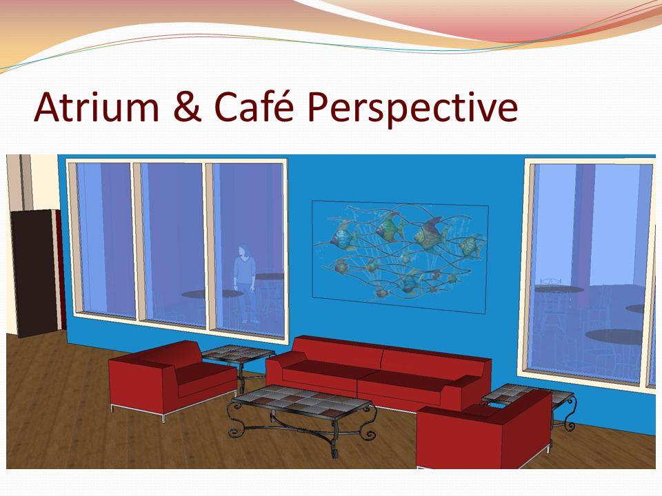 Atrium & Café Perspective