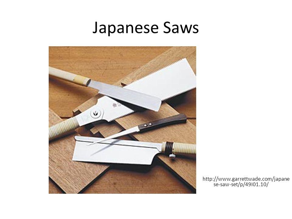 Japanese Saws http://www.garrettwade.com/japanese-saw-set/p/49I01.10/