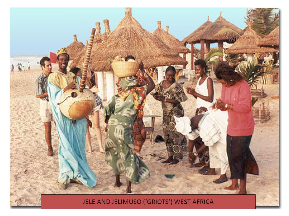 JELE AND JELIMUSO ('GRIOTS') WEST AFRICA