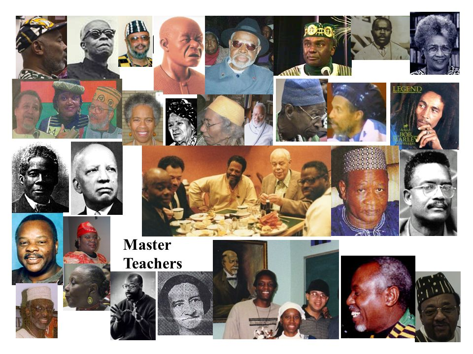 AFRICAN DIASPORA Master Teachers