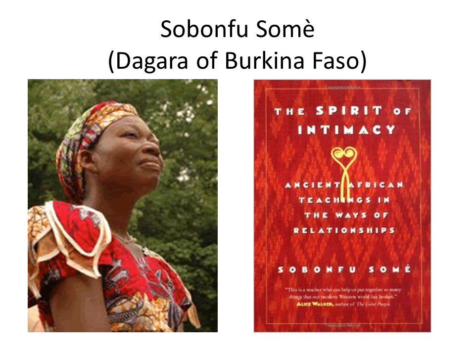 Sobonfu Somè (Dagara of Burkina Faso)
