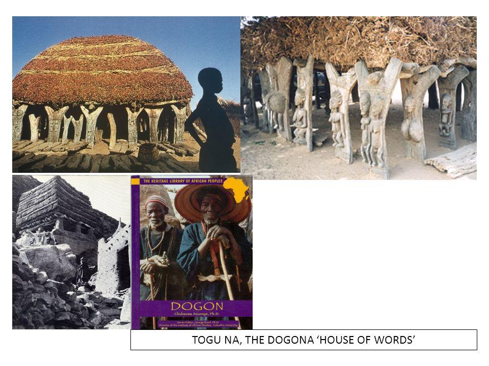 TOGU NA, THE DOGONA 'HOUSE OF WORDS'