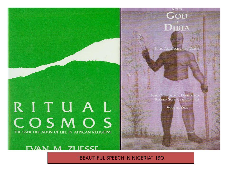 BEAUTIFUL SPEECH IN NIGERIA IBO