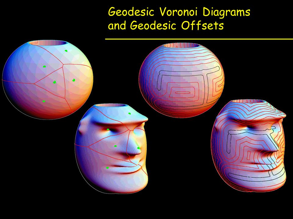 Geodesic Voronoi Diagrams and Geodesic Offsets