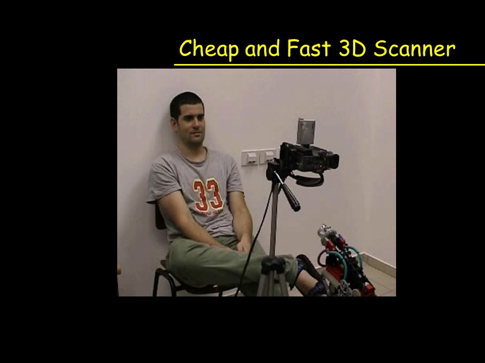 Cheap and Fast 3D Scanner