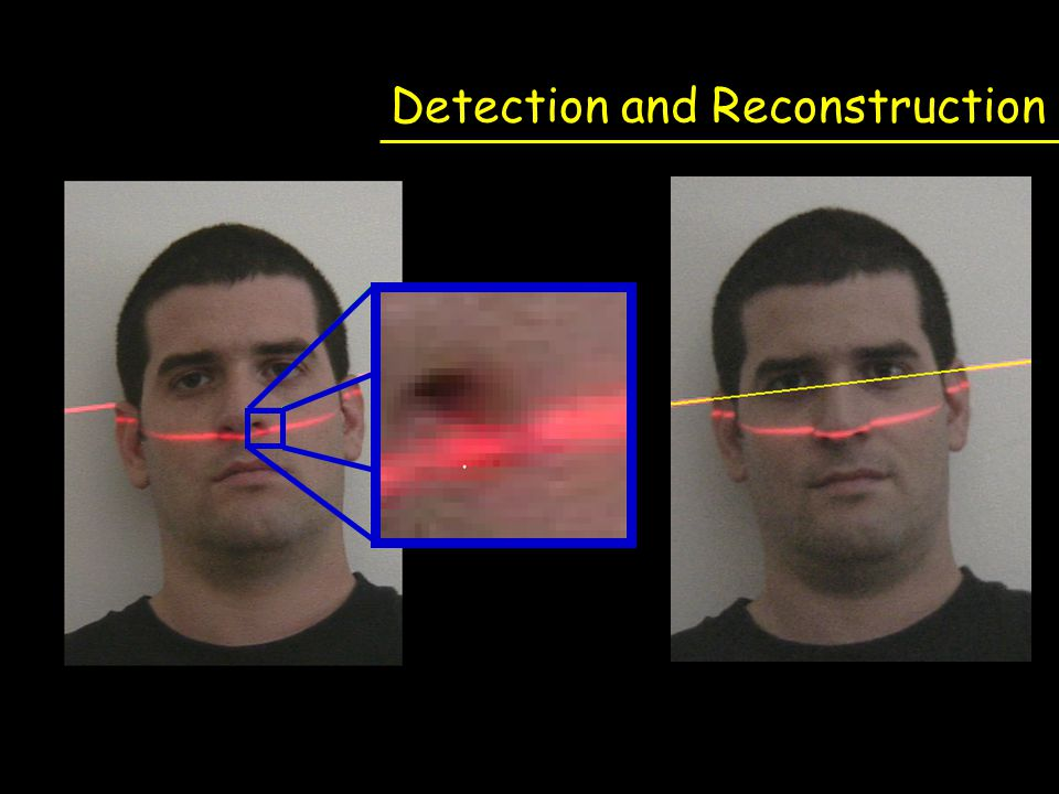 Detection and Reconstruction