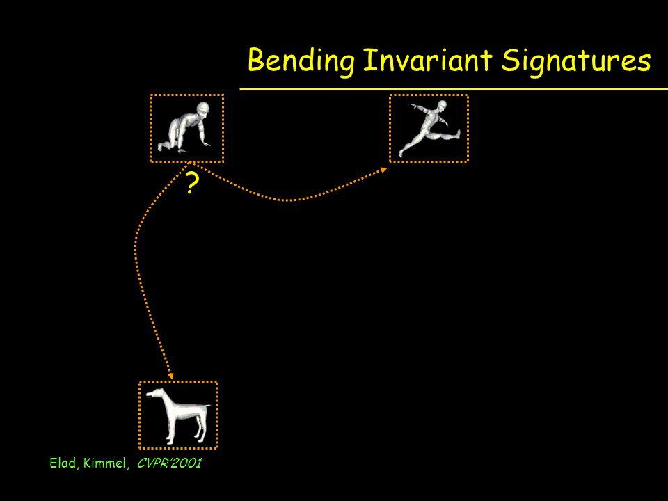 Bending Invariant Signatures