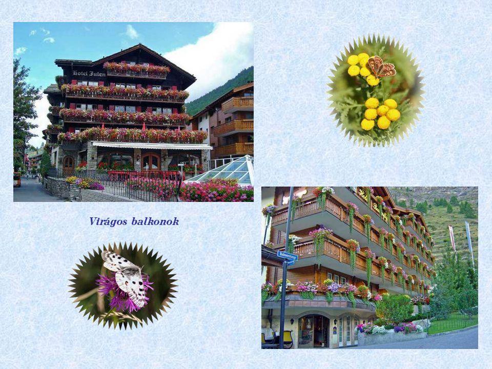 Virágos balkonok