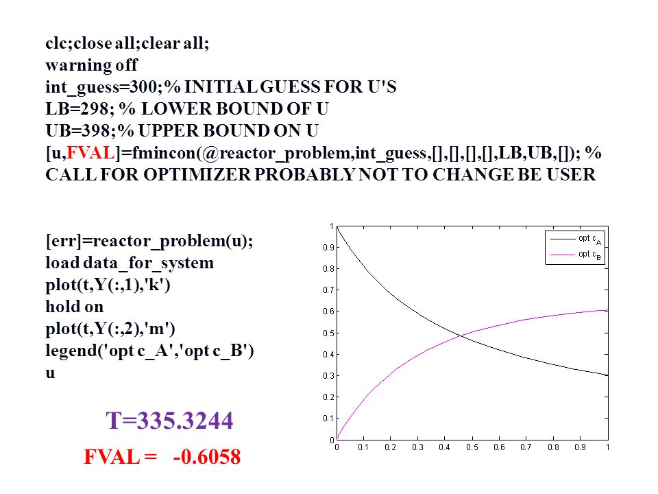 T=335.3244 FVAL = -0.6058 clc;close all;clear all; warning off