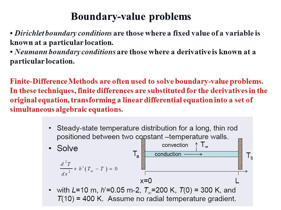 Boundary-value problems