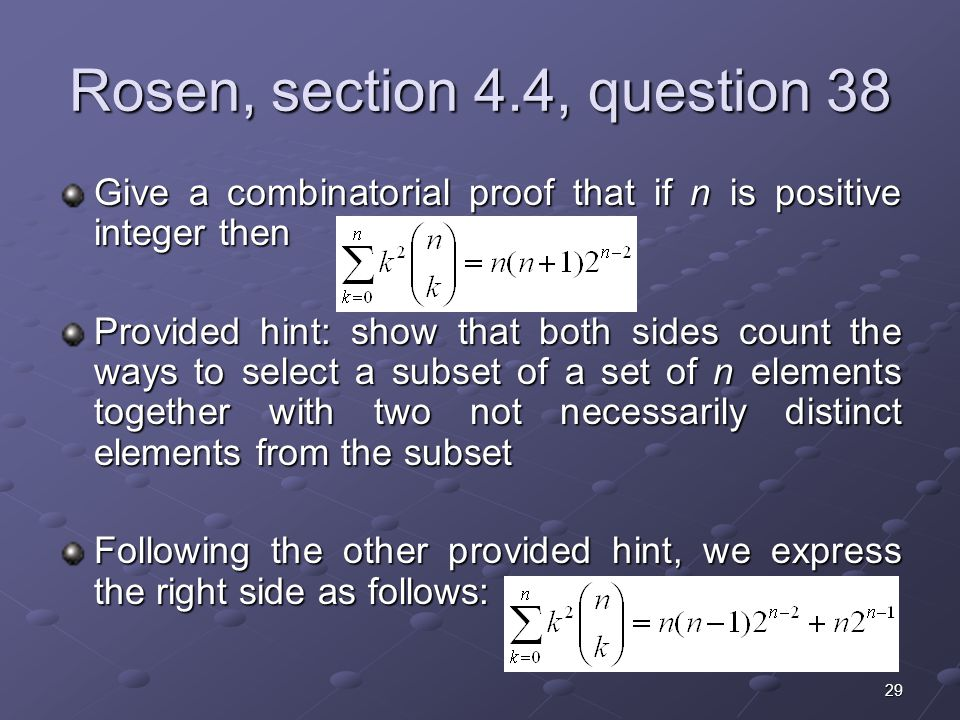 Rosen, section 4.4, question 38