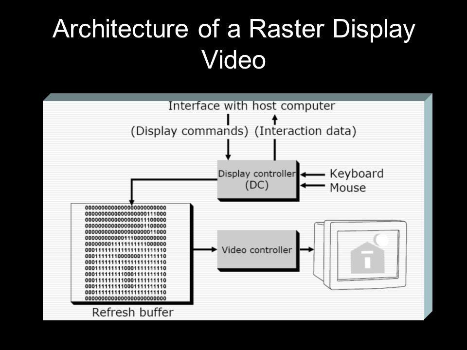Architecture of a Raster Display Video