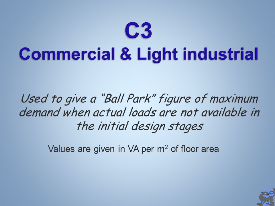 C3 Commercial & Light industrial