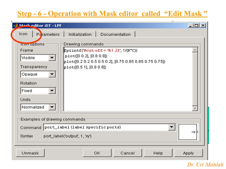 Step - 6 - Operation with Mask editor called Edit Mask