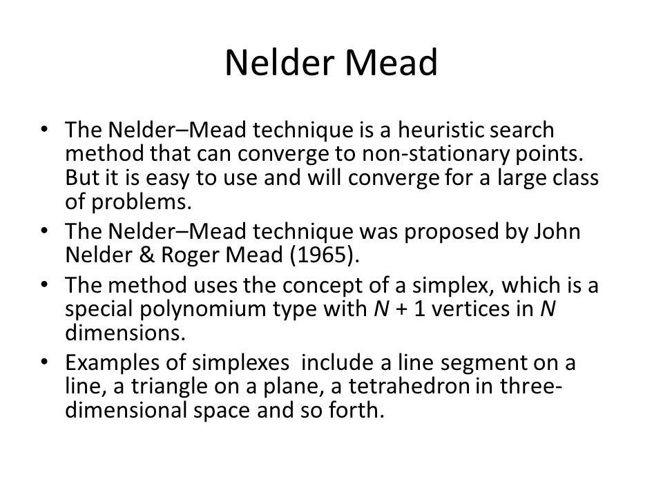 Nelder Mead
